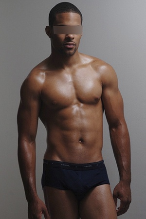 Black male London escort Adrian