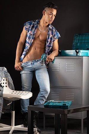 Hot Latin Male Escort