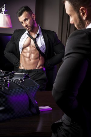 Muscular Male Latino Escort