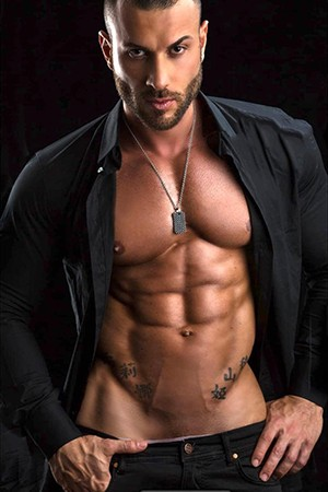 Muscular Bisexual Male Escort